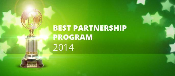 "FBS company awarded as ""World best partnership program on Forex 2014"""