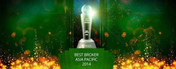 "FBS Company was awarded as ""The Best Broker in Asia-Pacific Region""!"