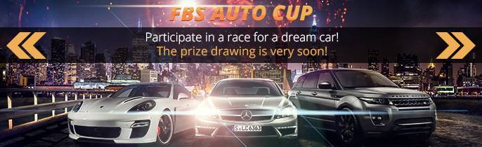 FBS Auto Cup Promo! Take part in a race for a dream-car!
