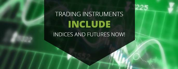 Trading Instruments include indices and futures now!